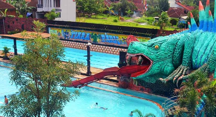 iguana slide tiara park