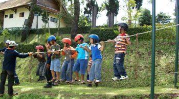 manfaat outbon duntuk anak-anak
