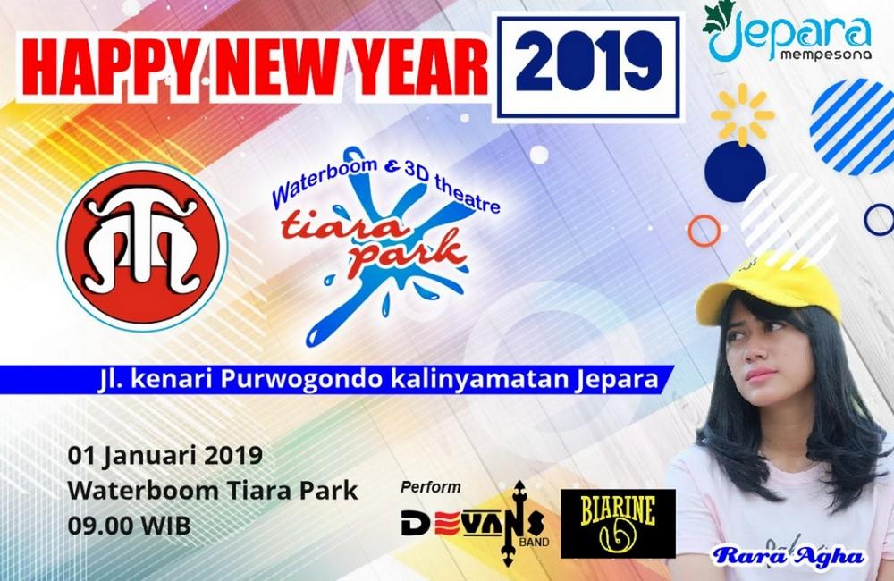 tahun baru 2019 di tiara park